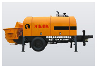 small diesel engines concrete pump